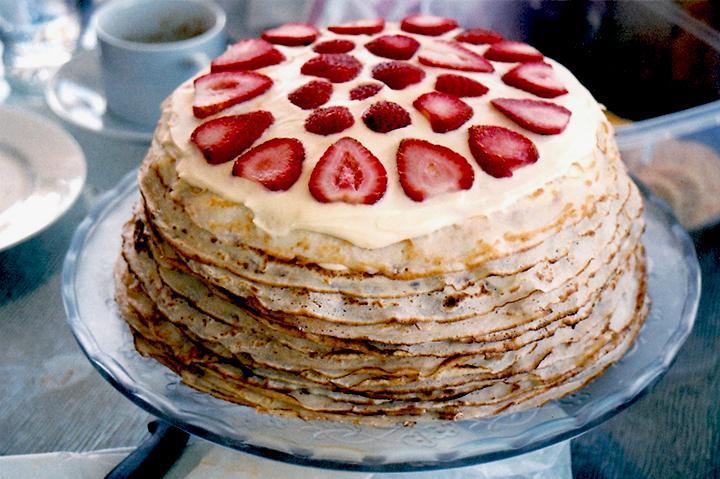 рецепты блинных тортов