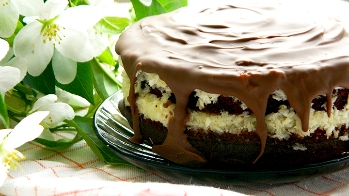 рецепт торт баунти
