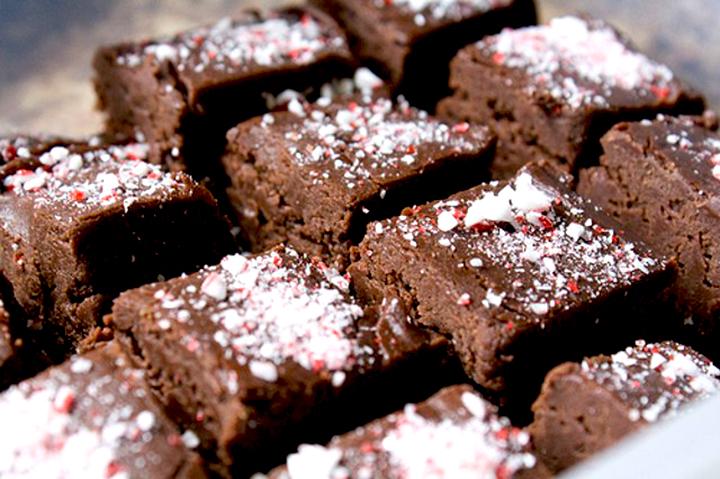 шоколадно-коньячная помадка