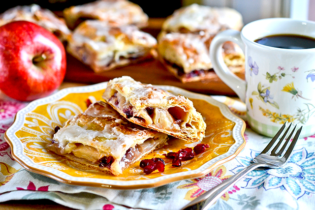 пирог из клюквы рецепт