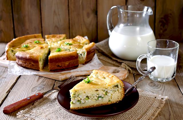 рецепт пирога с яйцом
