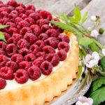 Пирог с малиной – необычайно вкусный десерт