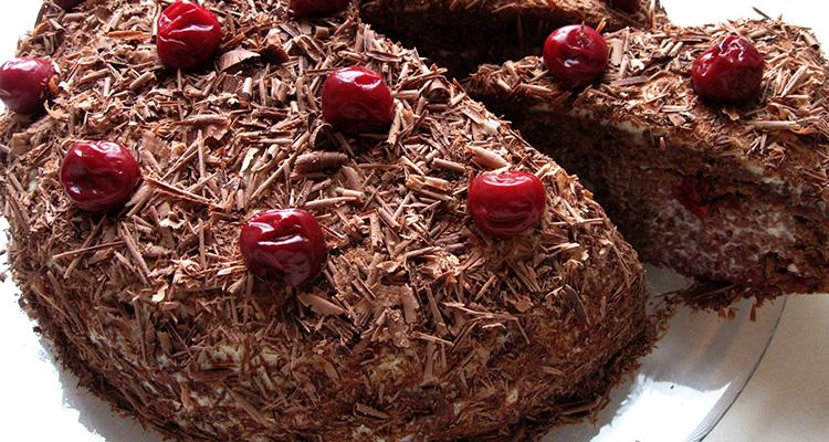 торт пьянаяя вишня в мультиварке