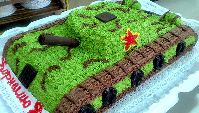 торт танчик для мальчика 11 лет