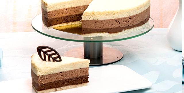 шоколада три торт