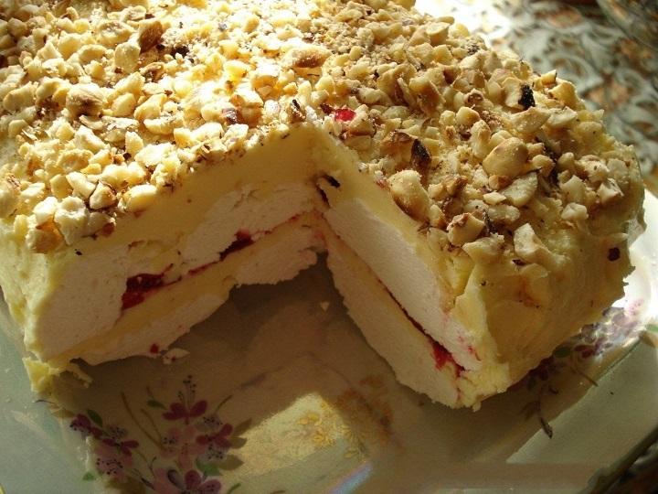 рецепт торта с зефиром