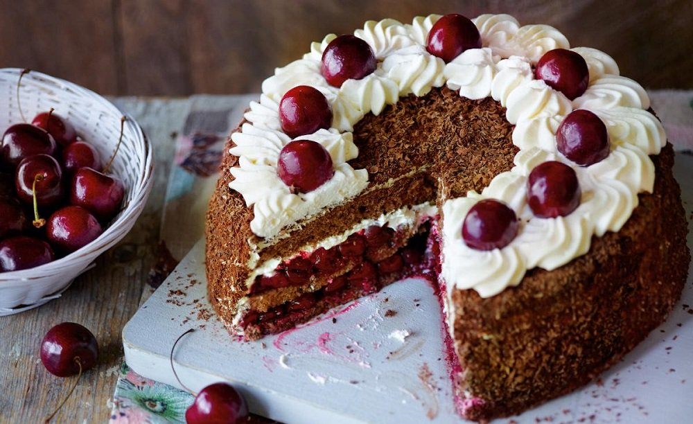 Торт Черный лес - пошаговый рецепт с фото на Повар