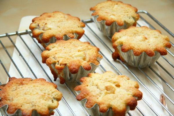 Классический кекс из яблок