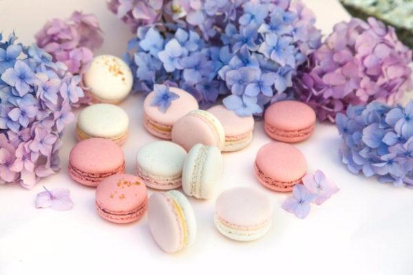 Французское печенье Макарон с ванилью