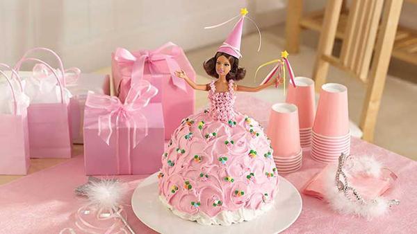 Торт «Барби» с мастикой