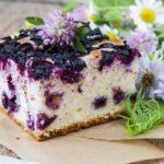 Черничный кекс: рецепты приготовления с фото