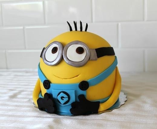 Торт Миньон в стоячем виде