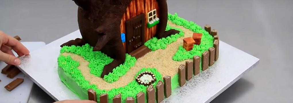 Шоколадныйторт Маша и Медведь
