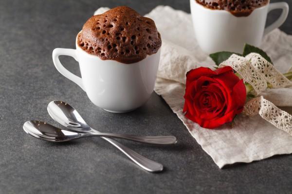 Кекс шоколадный за 5 минут