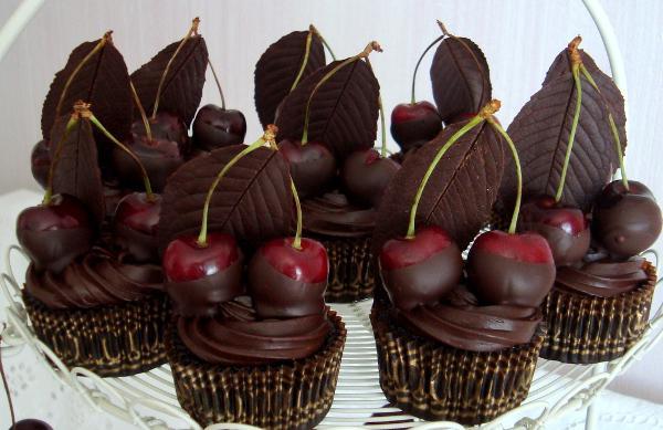 Шоколадно-кофейные капкейки