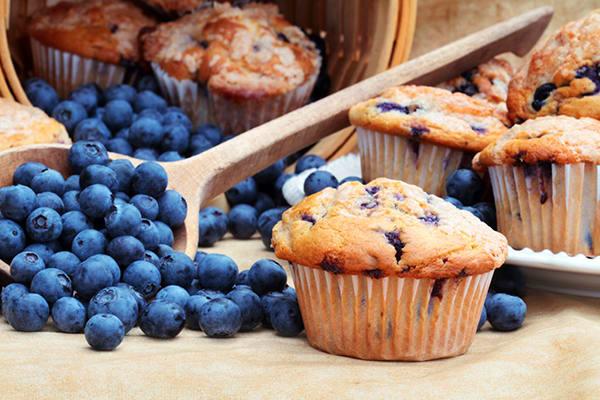 Черничный кекс: классический рецепт