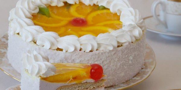 Торт-суфле Рафаэлло