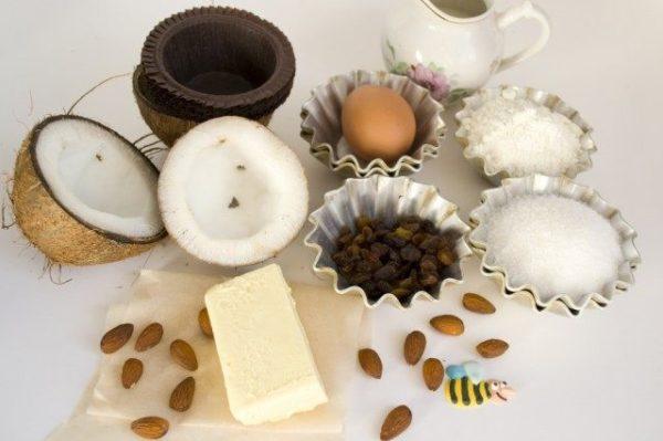 Ингредиенты для кексов