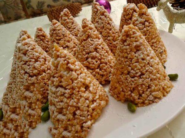 Пирожное муравейник из готового печенья