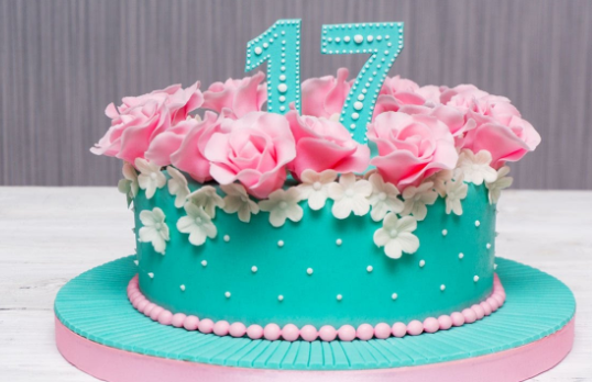 Торт для женщины