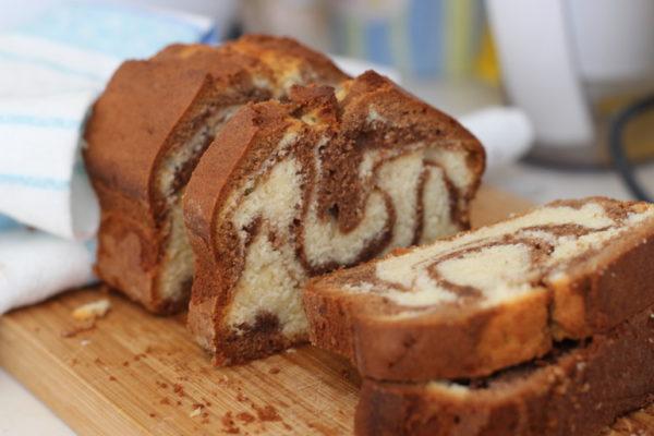 Мраморный кекс«Тридцатиминутка»
