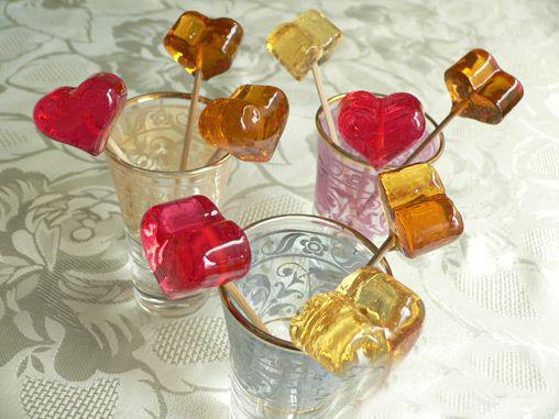 Фруктовые конфеты из сахара