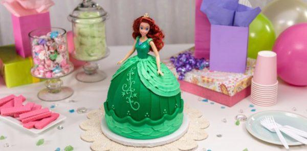 Торт на 11 лет девочке с марципаном и вареньем