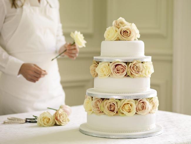 Американский свадебный торт
