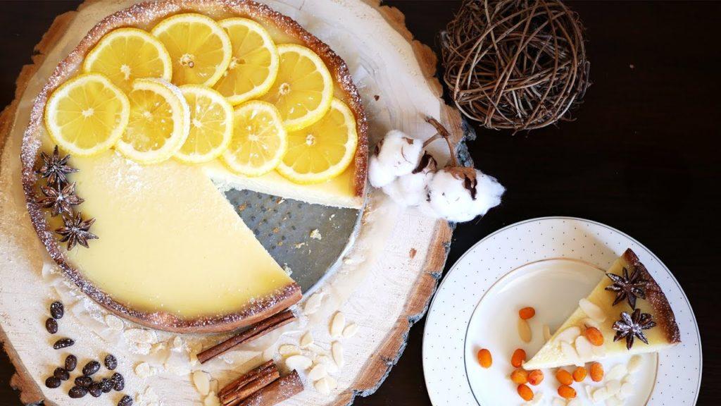 Лимонный тарт: рецепт с фото пошагово