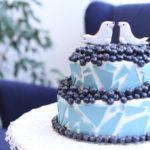 Синий свадебный торт: рецепты с фото
