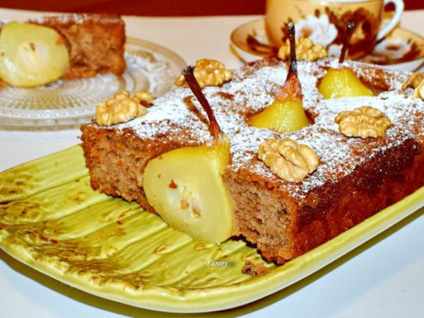 Тарт грушевый: рецепт с фото шагово