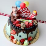 Торт Маша и Медведь: рецепт с фото